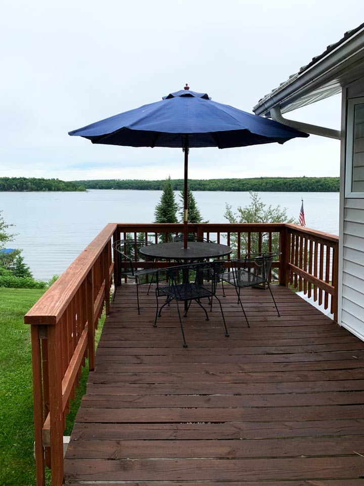 lake view, lake resort, northern mn, snowmobile trail, beach front, deck, lake pokegama