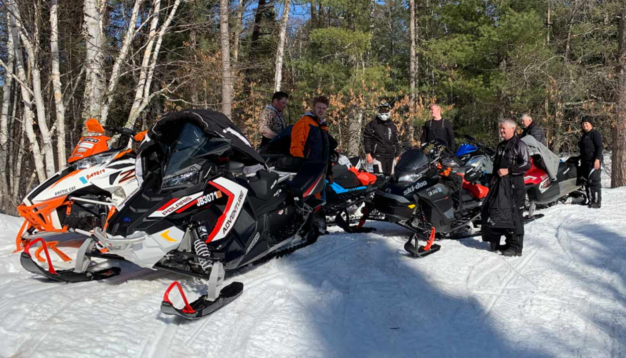 Winter Activities: Snowmobiling